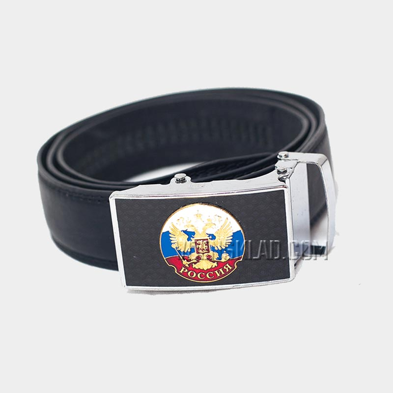 Belt with Russian flag